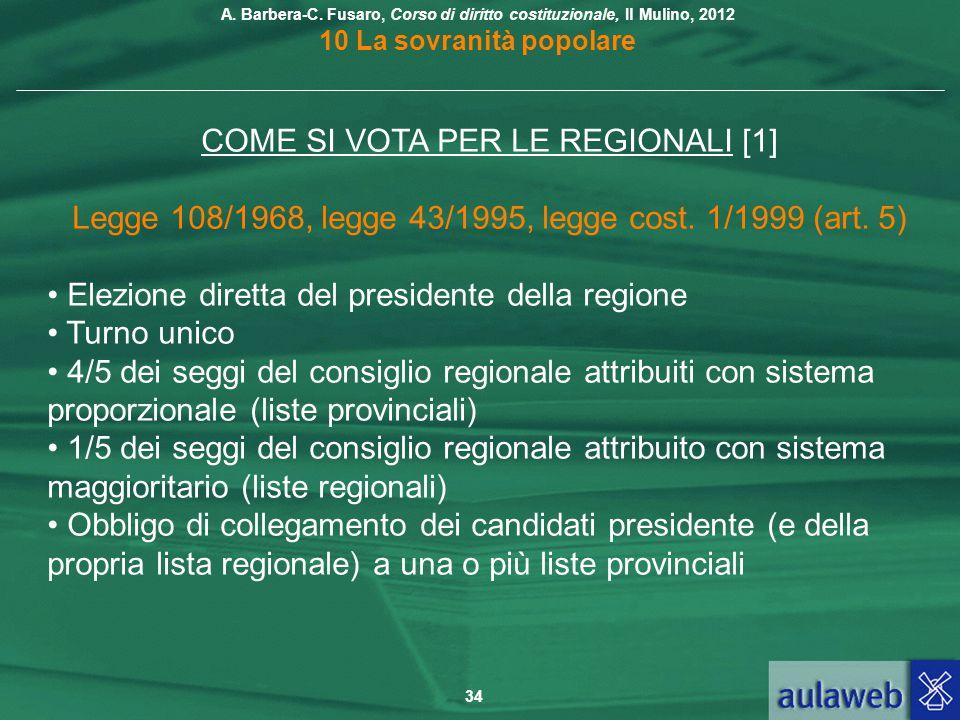 COME SI VOTA PER LE REGIONALI [1]